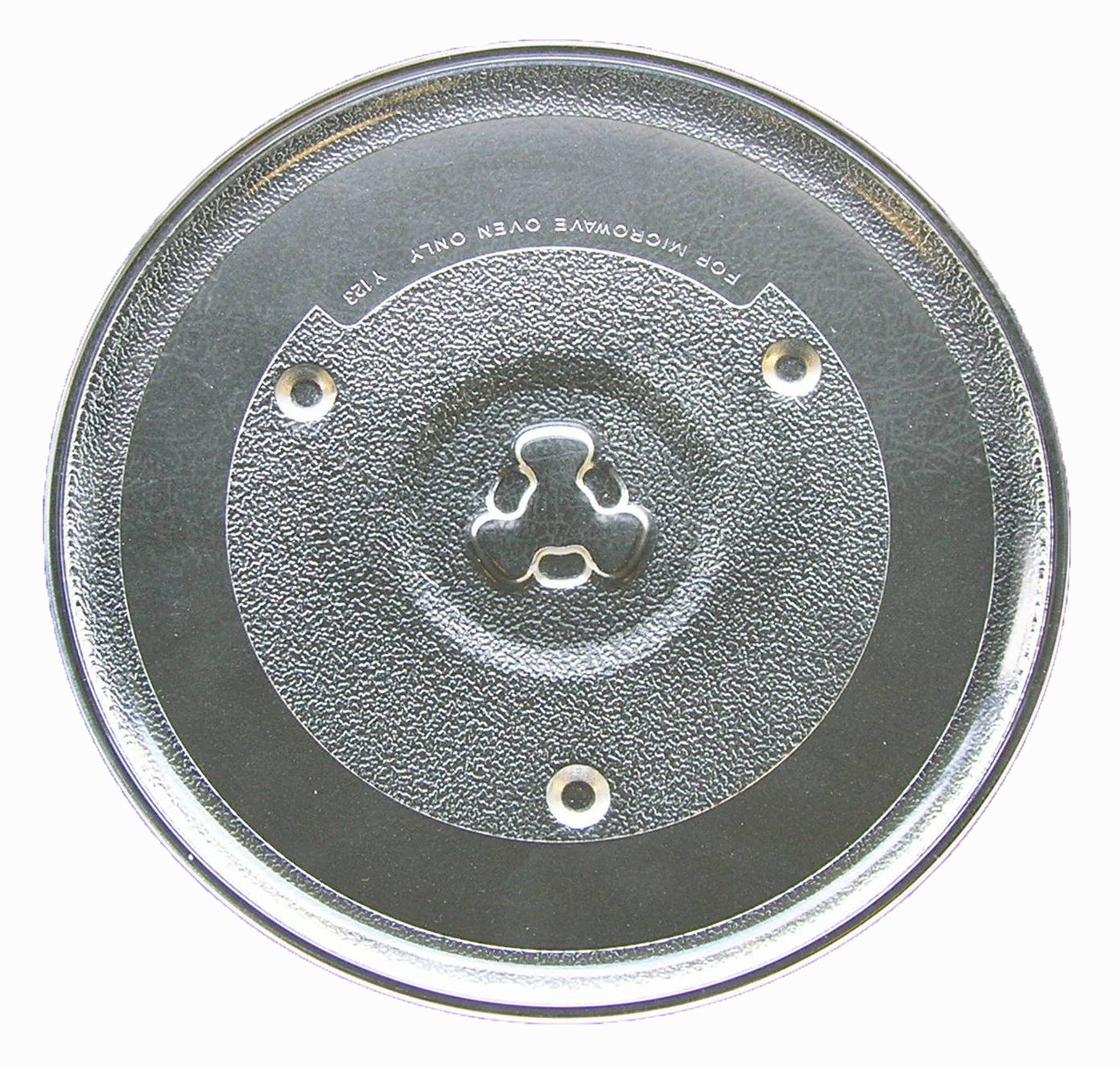 ge microwave glass turntable plate tray 10 1 2 wb49x10185