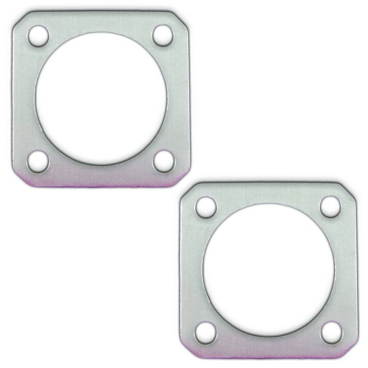 remflex exhaust gaskets 4 bolt 3 pipe universal flange collector pair 8036