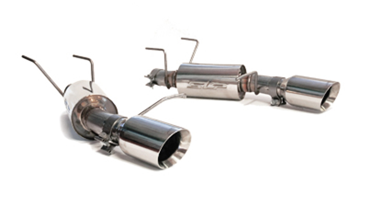 slp exhaust loudmouth axleback 11 14 mustang gt shelby gt500 m31023