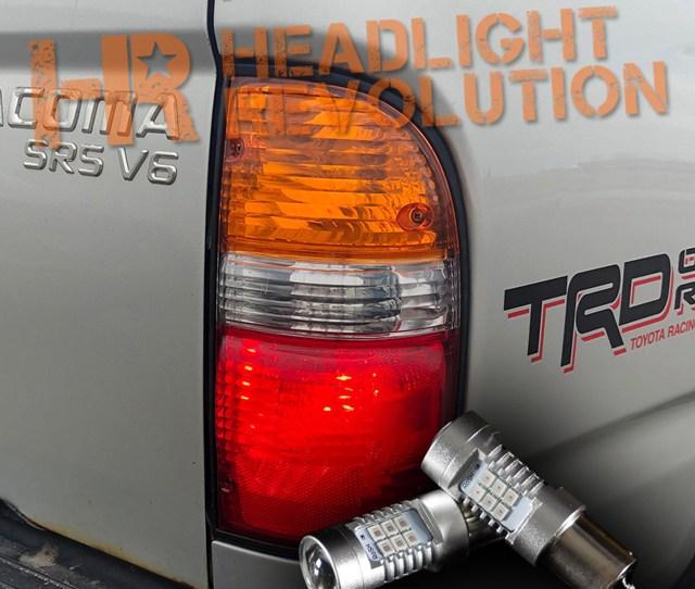 2001 2004 Toyota Tacoma Led Rear Turn Signals Kit