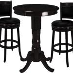 Ram Pub Table Set 3 Piece Black Ozone Billiards