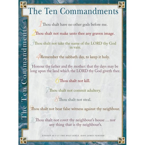 10 commandments specials # 76