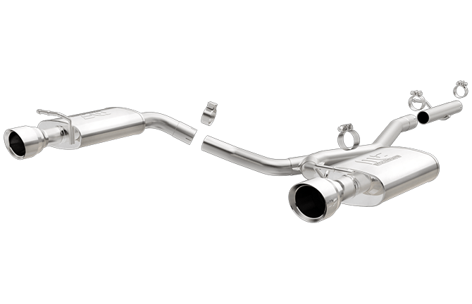 magnaflow 19280 ford explorer 2 3l stainless dual rear exit performance exhaust system