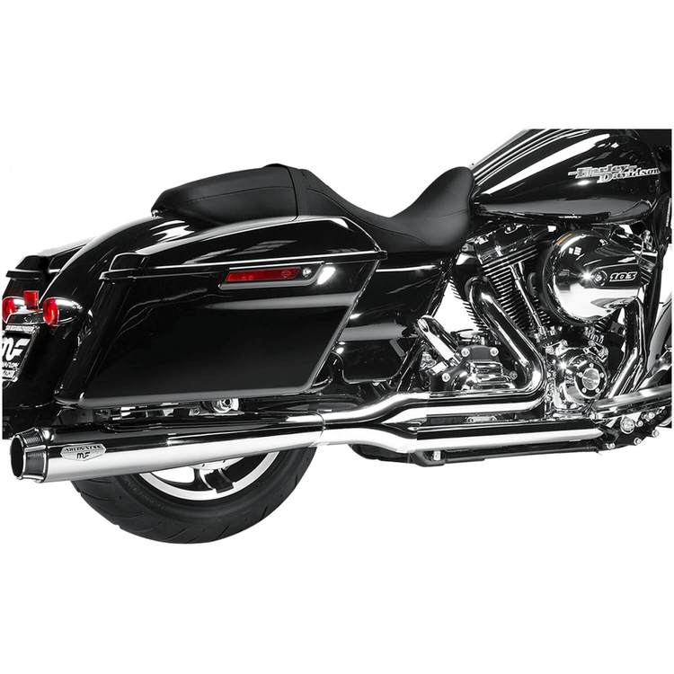 touring ness comp series exhaust system