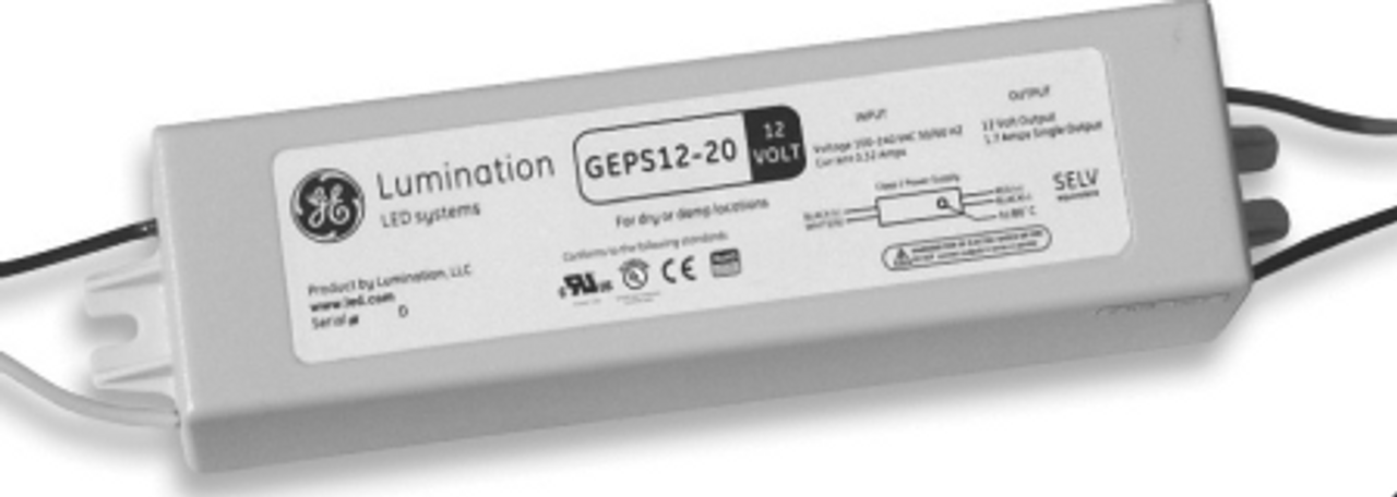geps12 20 ge led power supply 20w 12vdc
