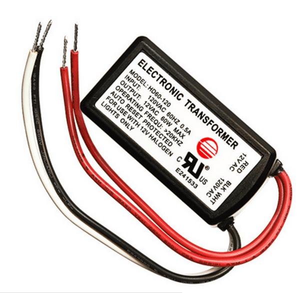 hd60 120 bset 60 lvt 60n electronic transformer 60w 12vac