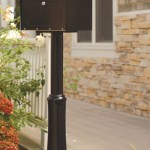 Small Black Locking Curbside Mailbox A6200z Curbside Secure Locking Mailboxes