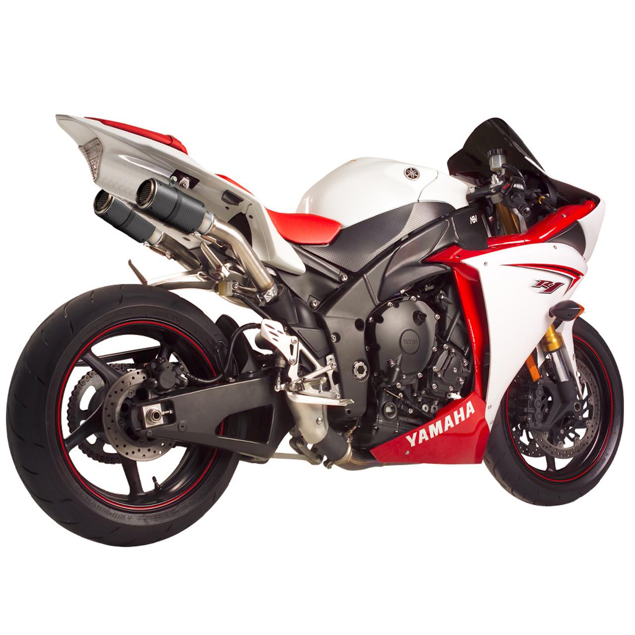 hotbodies racing yamaha yzf r1 09 14 mgp stinger exhaust