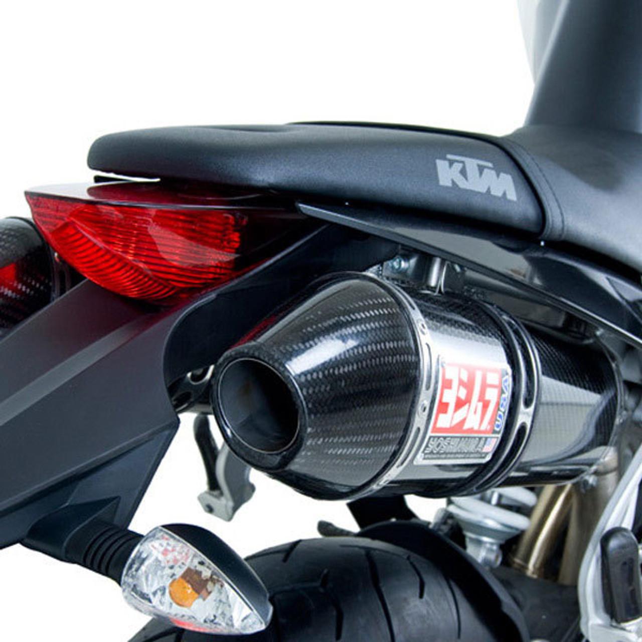 yoshimura ktm 990 super duke 06 09 race rs 3c slip on dual exhaust