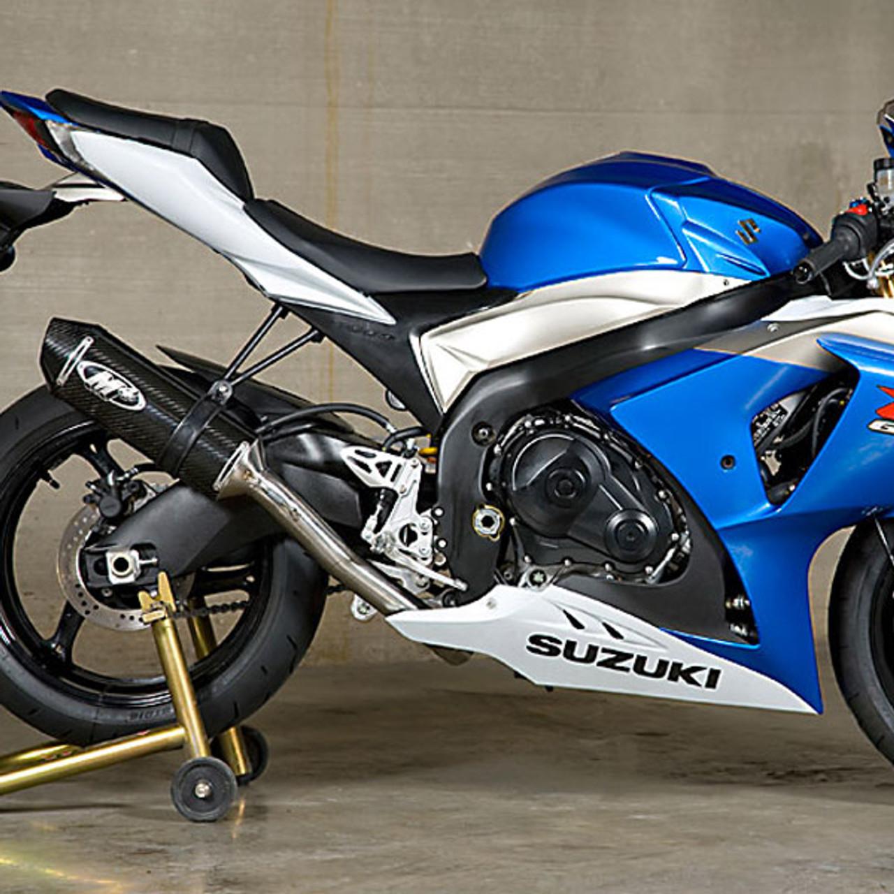 m4 suzuki gsx r1000 09 11 standard mount full exhaust system