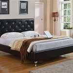 Diamond Tufted Queen Bedframe