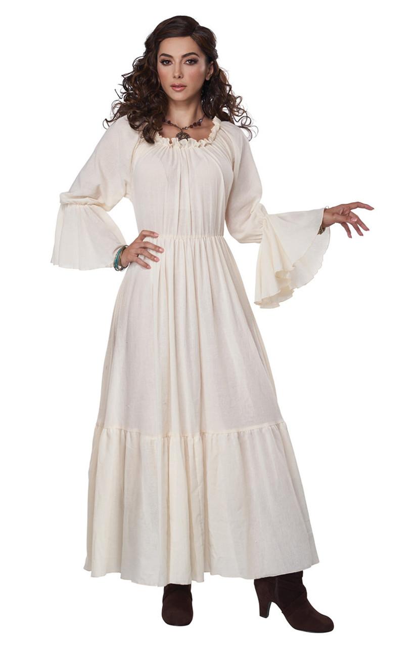costume de robe paysanne de la renaissance