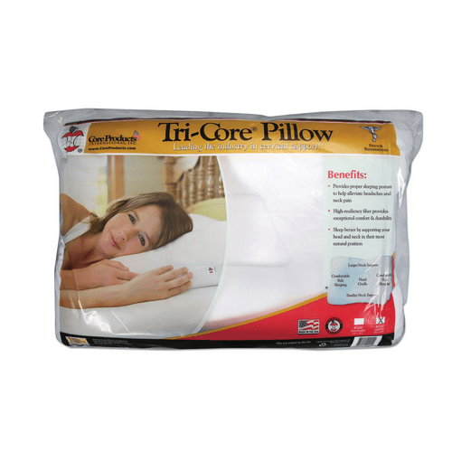 core products tri core pillow gentle