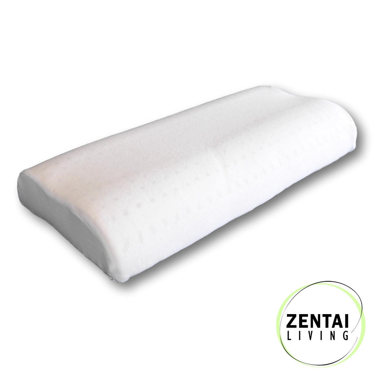 natural latex pillow for toddler medium contour