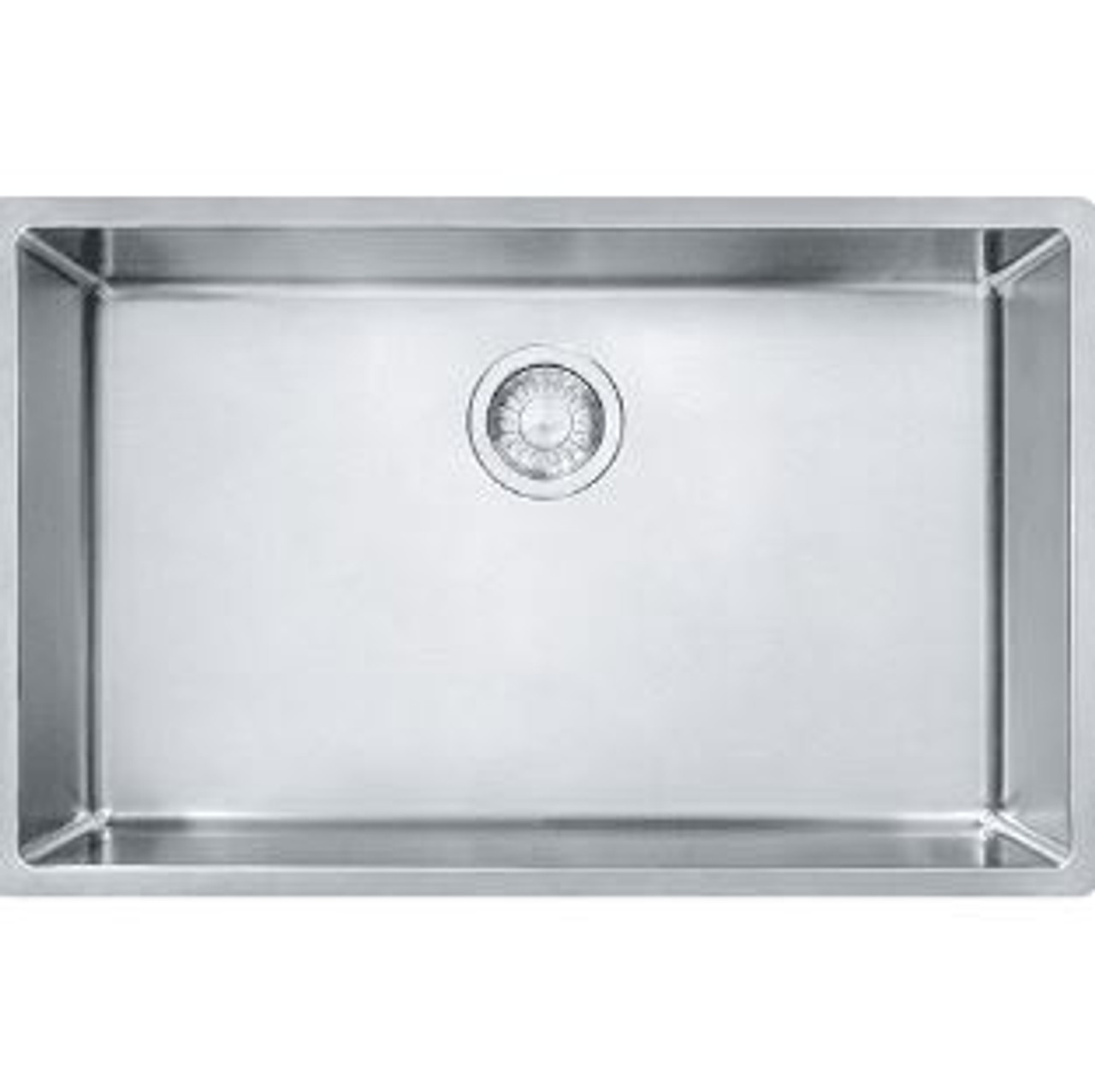 franke cux11027 cube 28 1 2 single basin undermount stainless steel kitchen sink