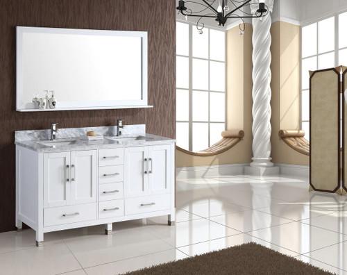 royal armada 65 double sink bathroom vanity