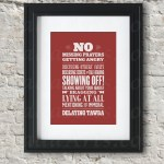 Muslim House Rules 2 Piece Poster Set