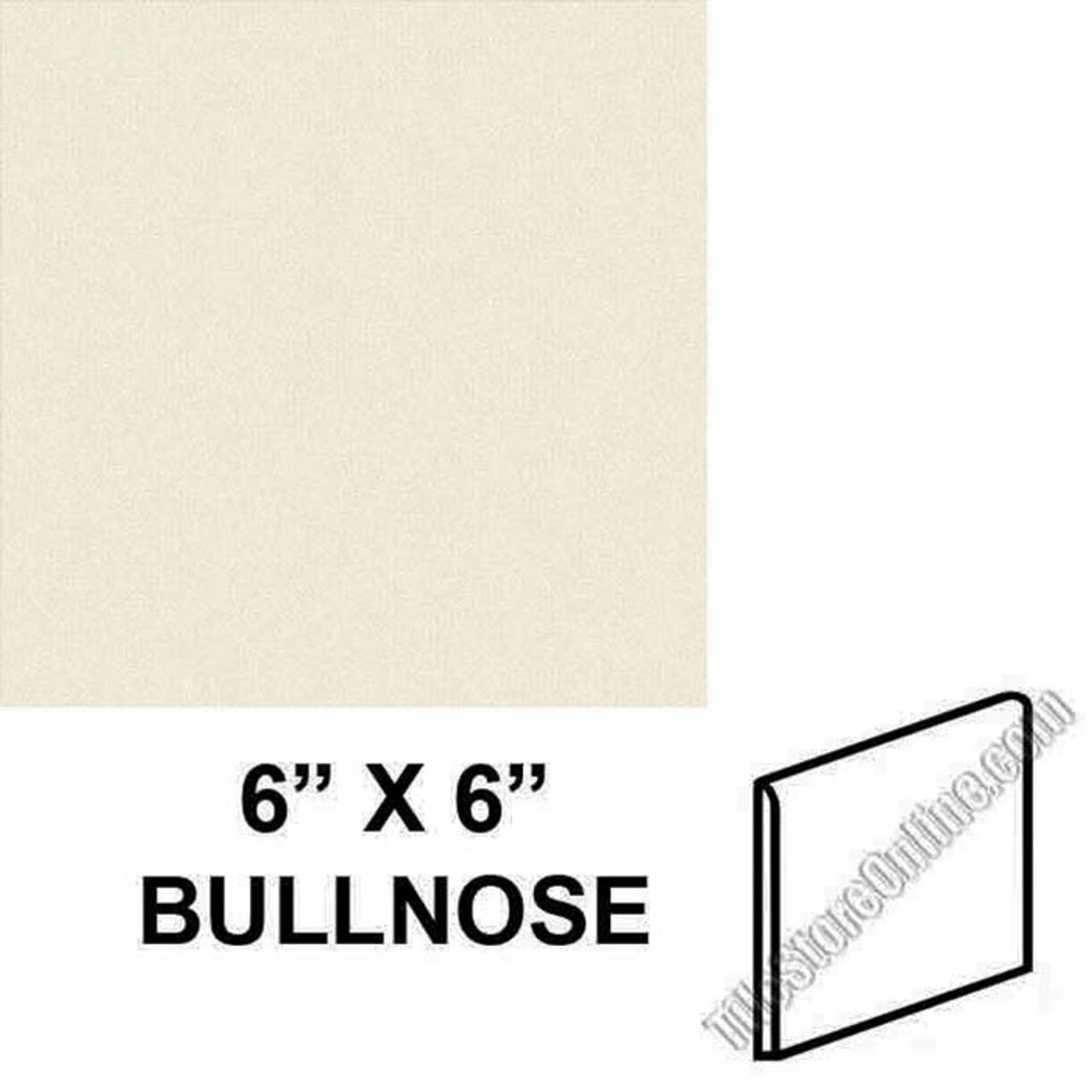 daltile 0135 almond 6 x 6 bullnose s4669 dal tile ceramic trim tile