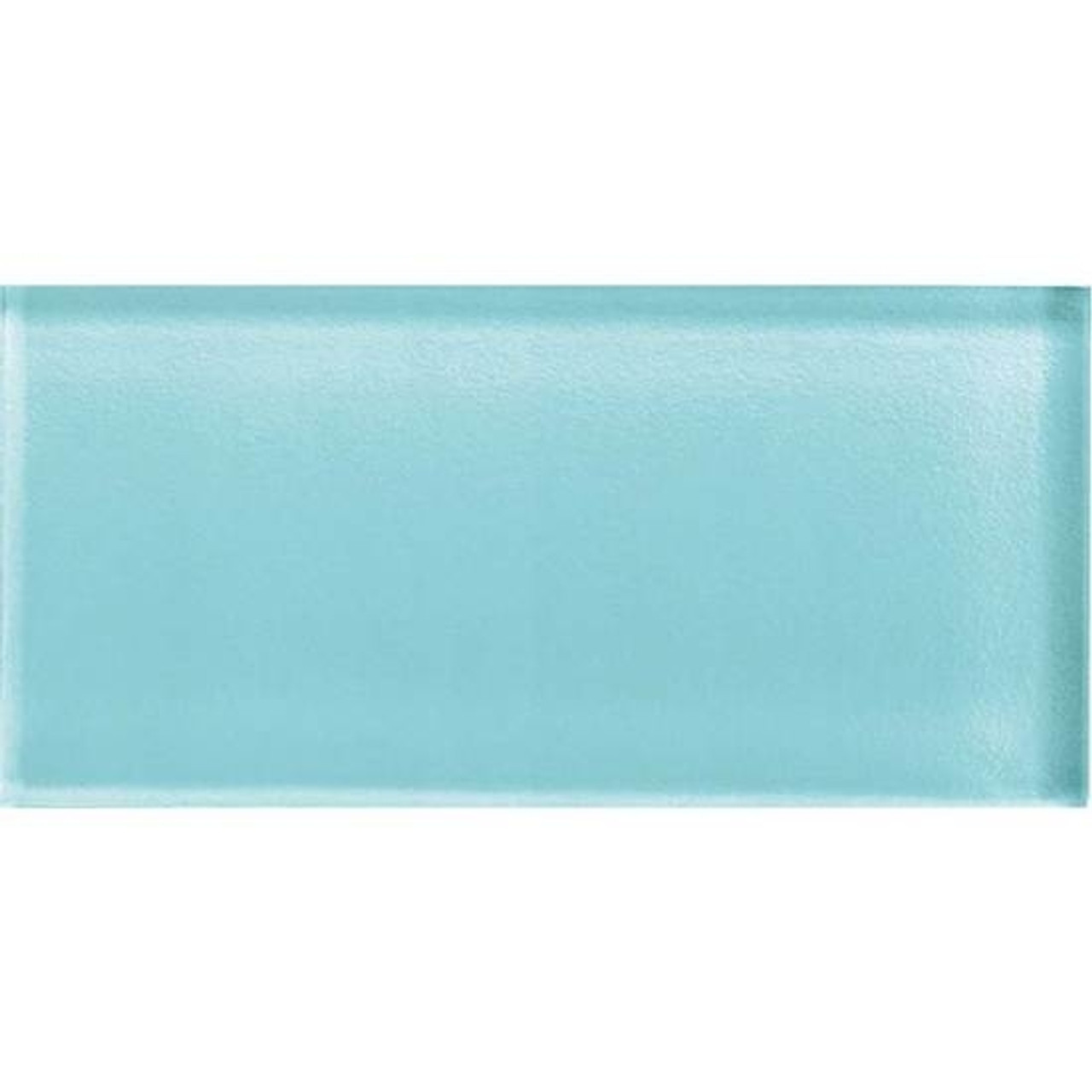 american olean color appeal glass c108 fountain blue 3x6 brick subway glass tile glossy