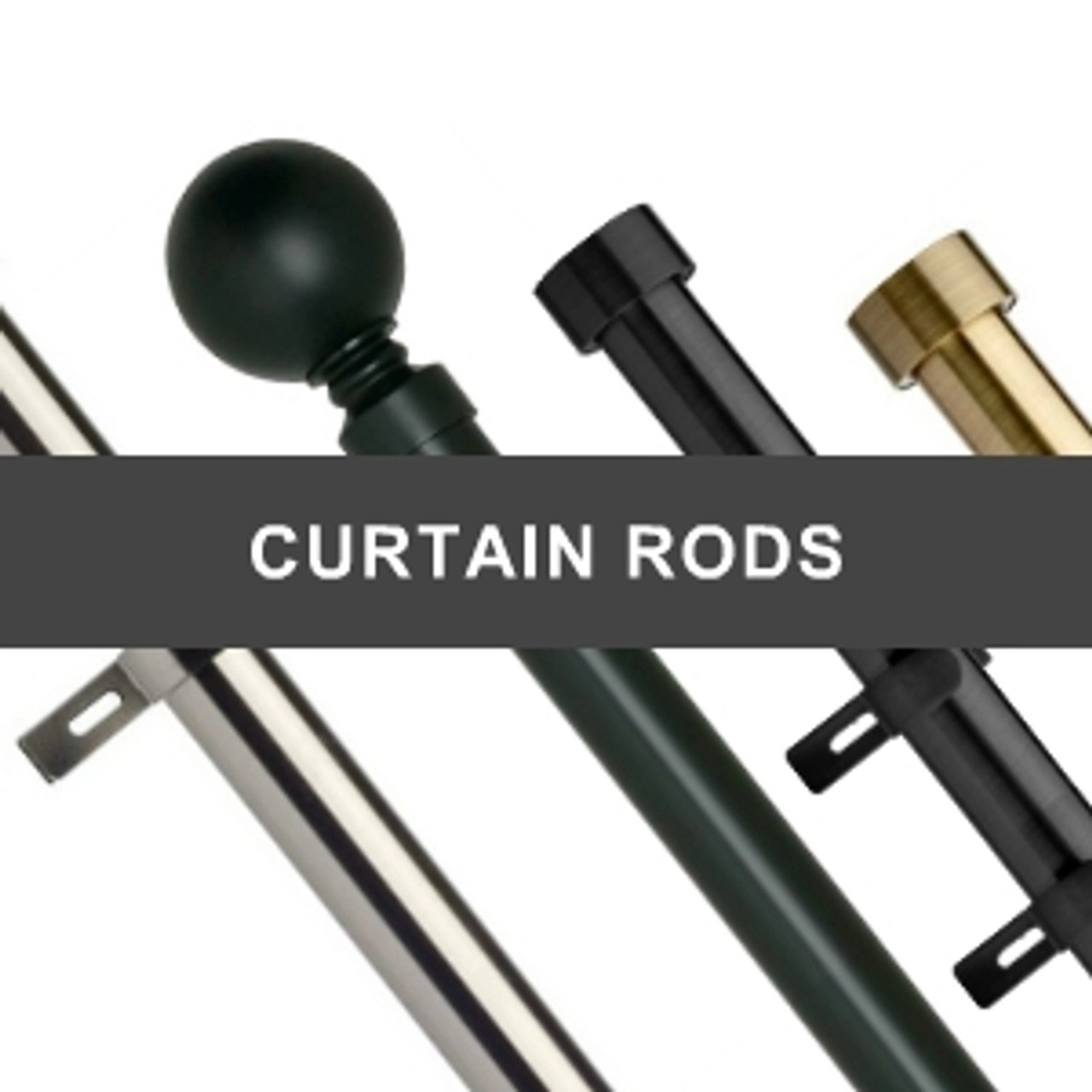 curtain accessories rods brackets