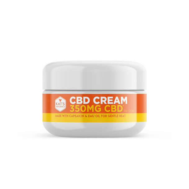 Kat's Naturals - CBD Topical - Capsaicin Cream - 350mg-1400mg activates TRPV1 receptors