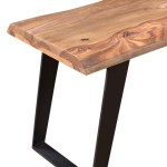 Solid Wood Live Edge Bench Dallas Texas Furniture Timbergirl