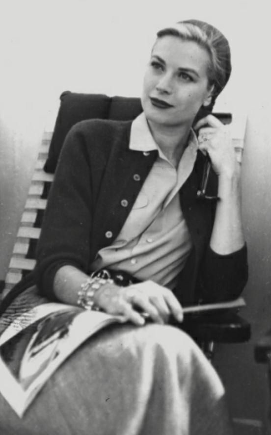 The elegant, self-possessed Grace Kelly