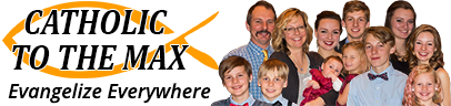 Catholic to the Max Logo