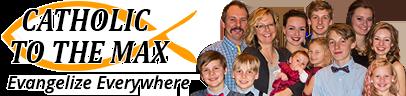 Catholic to the Max Logo