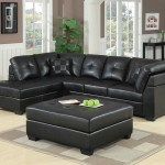 Coaster Darie Sectional Black Darie Cushion Back Tufted Sectional Sofa Black 500606 On Sale At Spokane Furniture Company Serving Spokane Post Falls Coeur D Alene Wa Spokane Valley Post Falls
