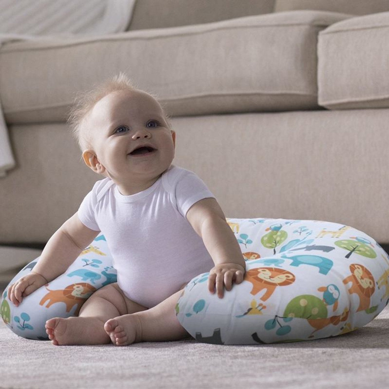 boppy feeding and infant support pillow circles