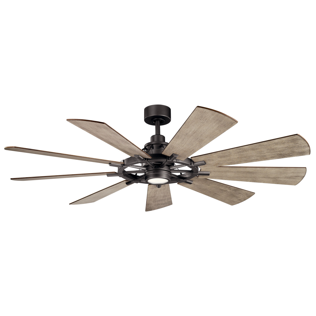 gentry led 65 indoor outdoor ceiling fan by kichler lighting