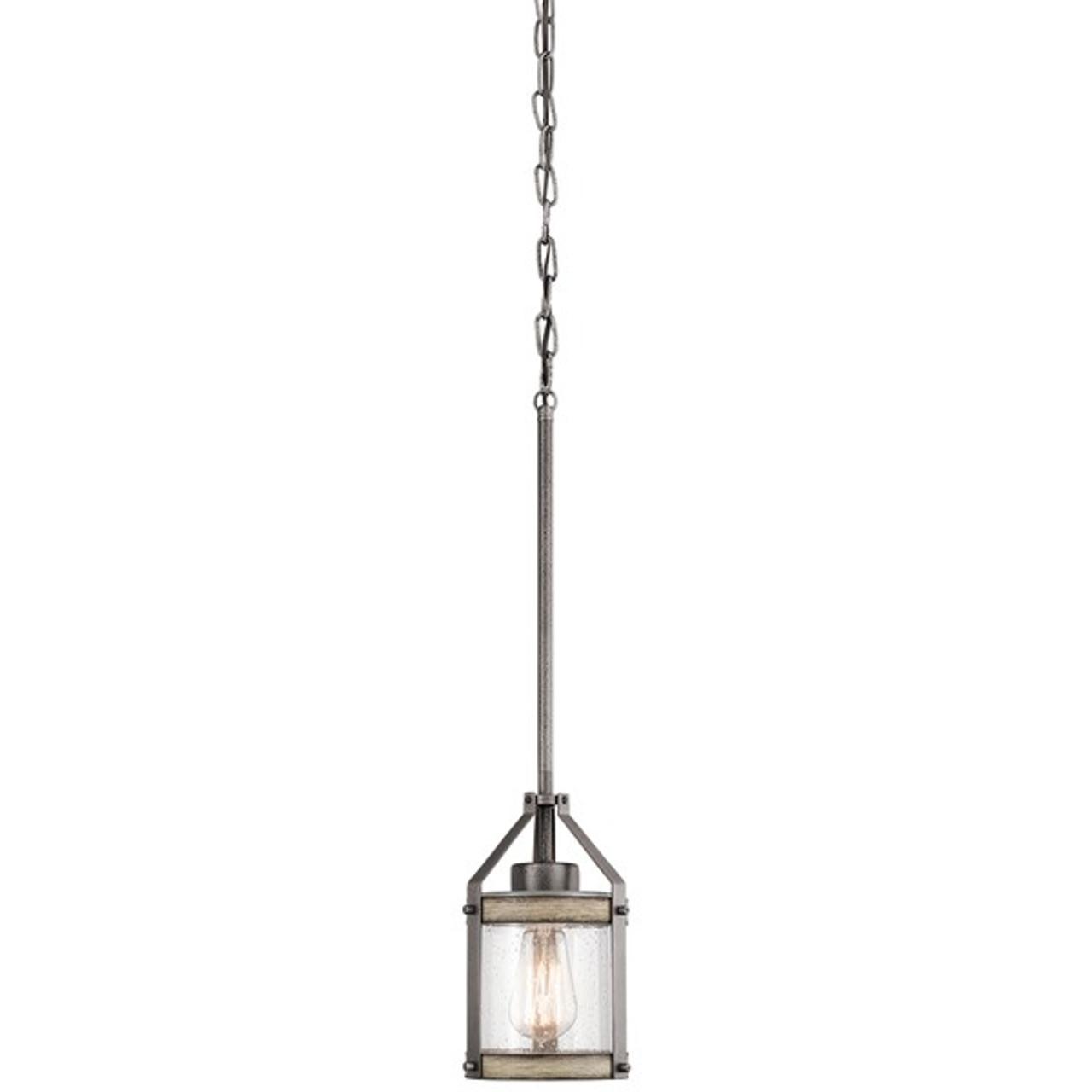 barrington 1 light pendant by kichler lighting
