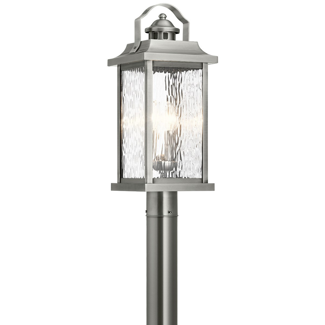 linford 22 10 3 light outdoor post lantern by kichler lighting