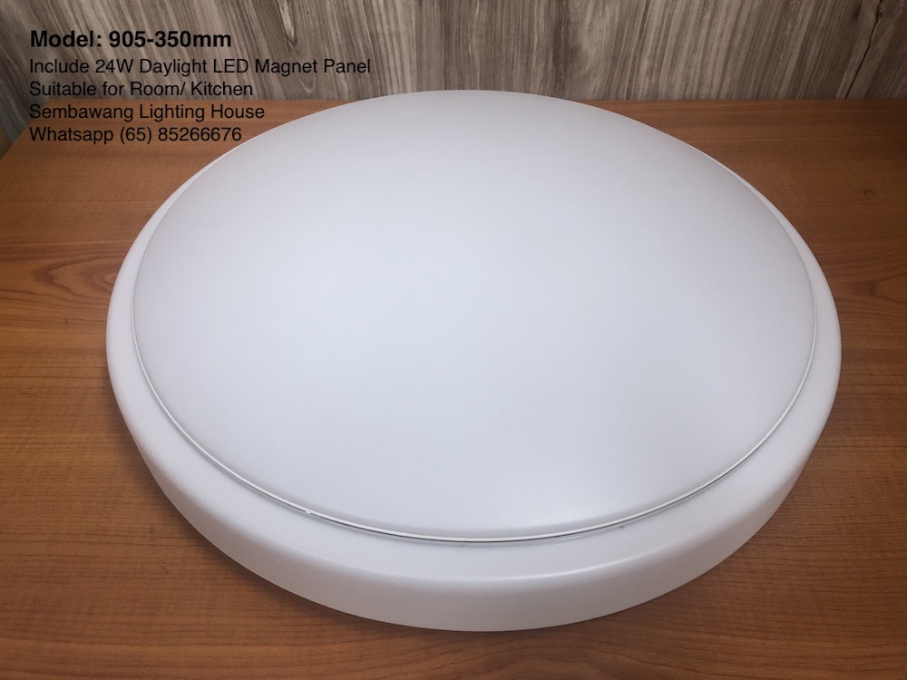905 plain acrylic ceiling lamp 190 260 350mm