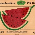 Crochet Watermelon Pot Holder Pattern Grandmothers No 6306
