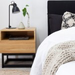 Urban Bedside Table Bedroom Furniture Mocka Nz