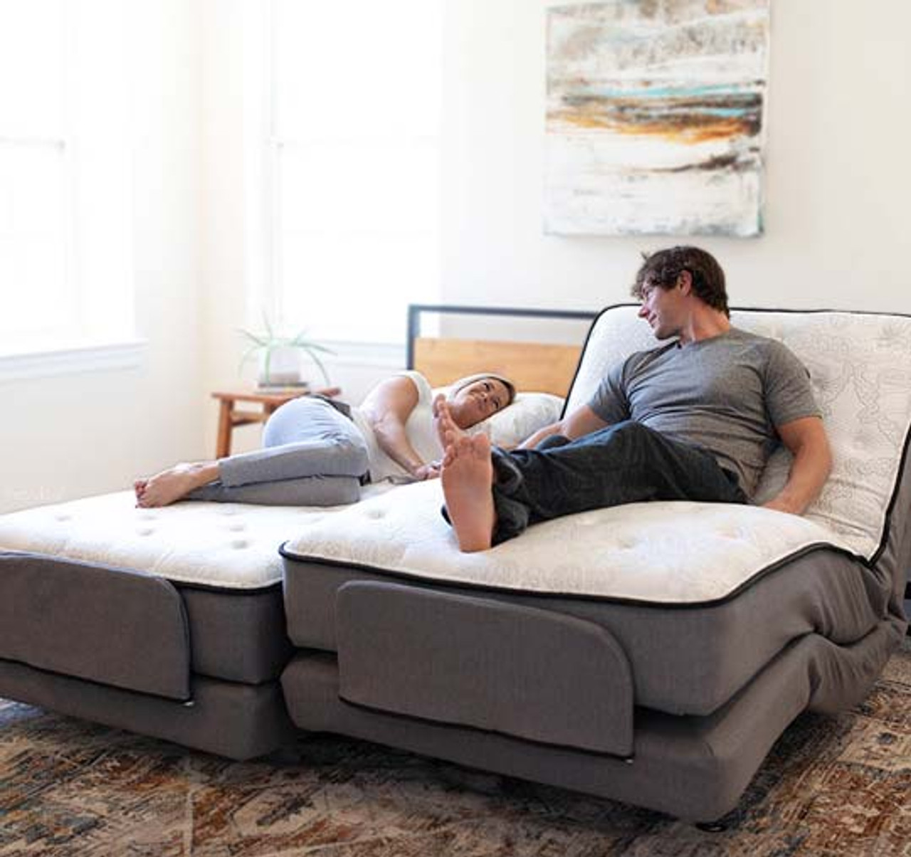 Flex A Bed Adjustable Hospital Beds Premier Twin Full Split Queen Split King