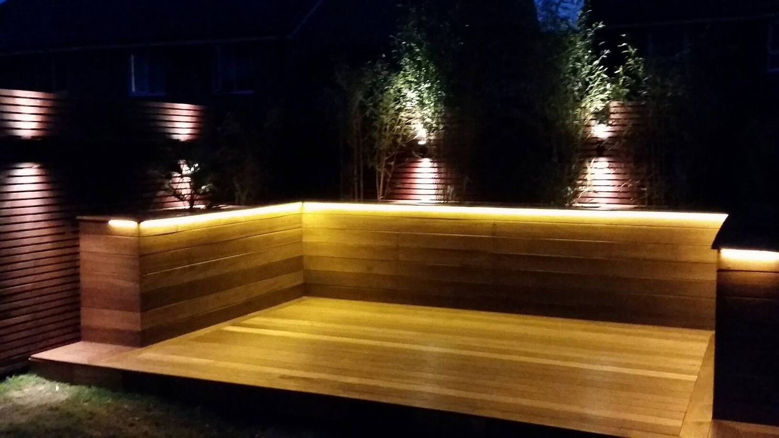 outdoor led strip light installation