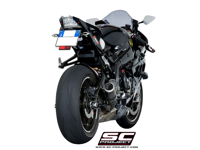 sc project slip on crt exhaust bmw s1000rr 2009 2016