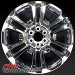 22 Gmc Chevy Truck Wheels For Sale 2015 2020 Chrome Rims 4741