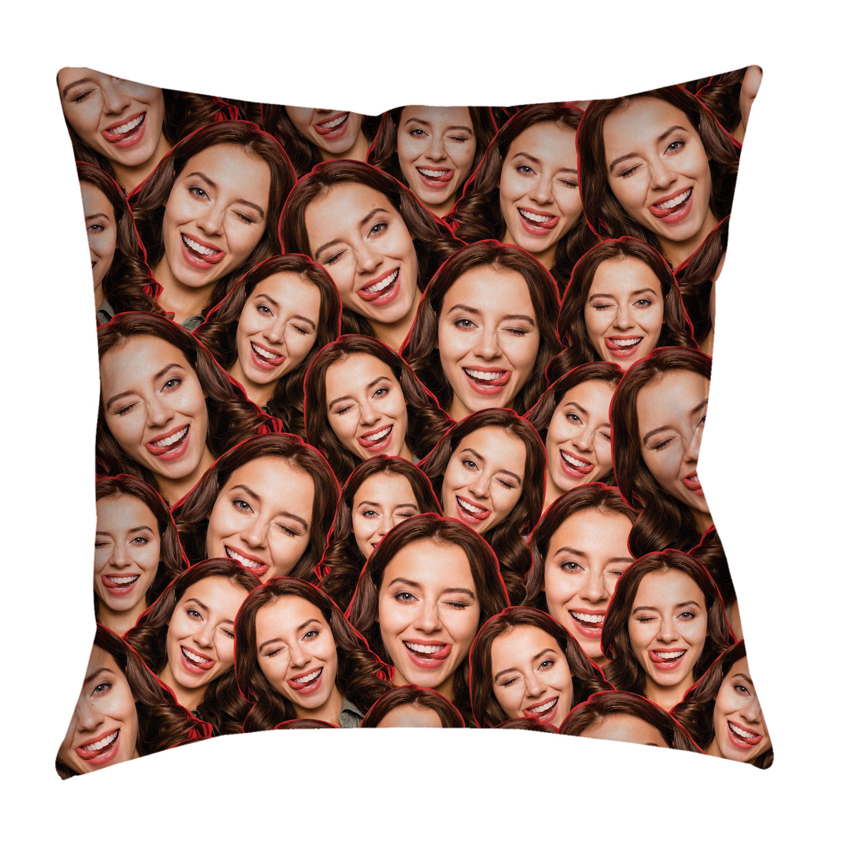 custom all over face photo pillow case