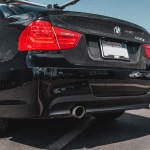 Mtech Msport Style Rear Bumper For 2006 11 Bmw 328i 335i Sedan E90 Single Dual Exhaust Extreme Power House
