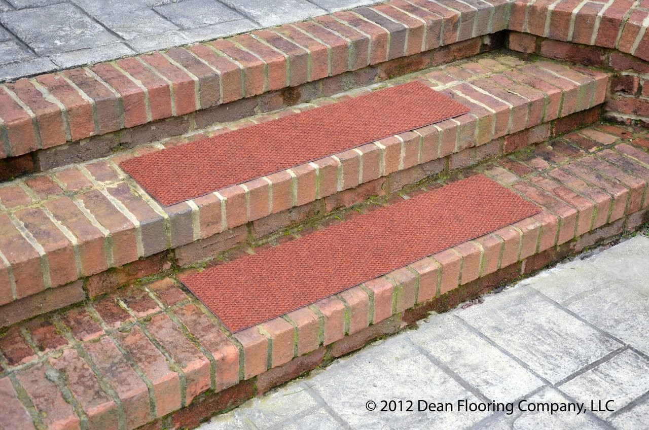 Dean Premium Indoor Outdoor Carpet Non Skid Stair Treads Terra | Indoor Outdoor Carpet For Stairs | Slip Resistant Rubber Backing | Interior | Electric Blue | Stair Residential | Diamond Pattern