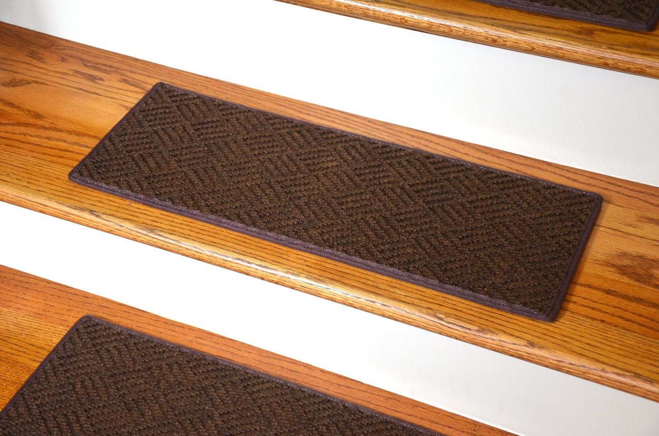 Dean Indoor Outdoor Pet Friendly Tape Free Non Slip Carpet Stair | Non Slip Carpet Stair Treads Indoor | Rubber Backing | Decor Rugs | Slip Resistant | Pure Era | Flooring