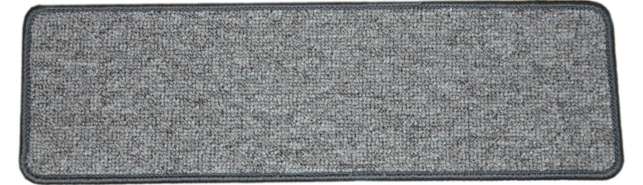 Dean Tape Free Pet Friendly Premium Non Slip Stair Gripper Carpet | 8 Inch Carpet Stair Treads | Wooden Stairs | Bullnose Carpet | Skid Resistant | Non Skid | Non Slip Stair