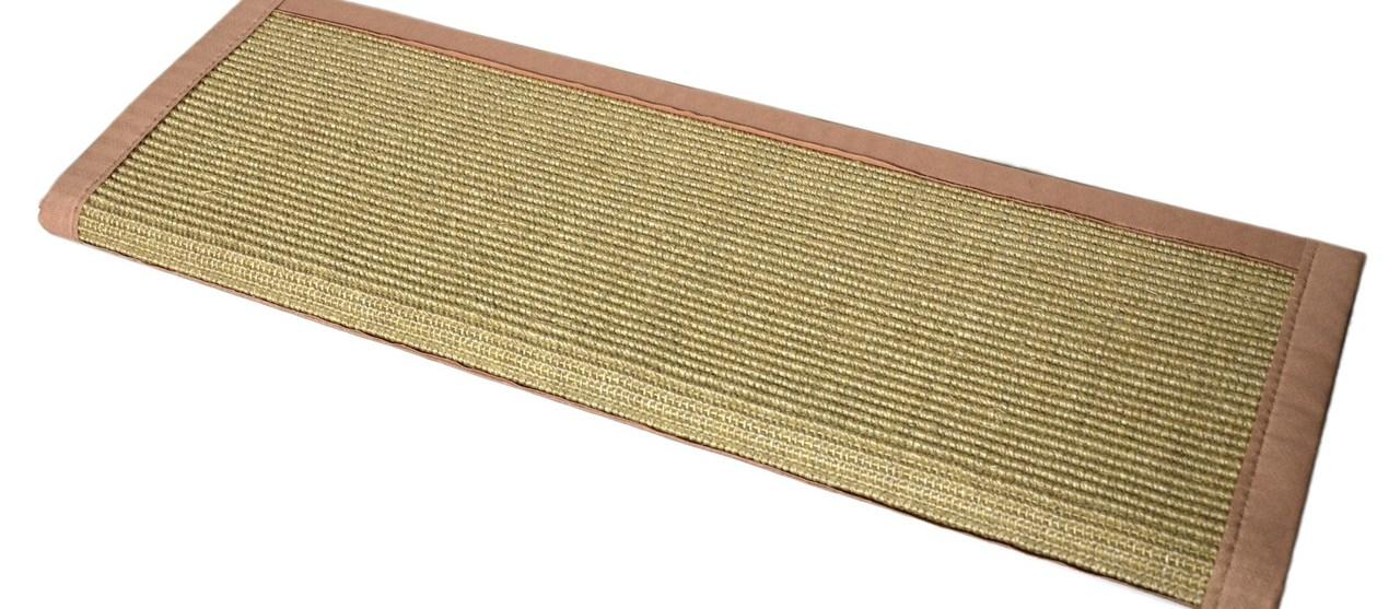 Island Sand And Black Sisal Bullnose Carpet Stair Treads | Sisal Carpet Stair Treads | Area Rugs | Fiber Sisal | Natural Fiber | Etsy | Oak Valley