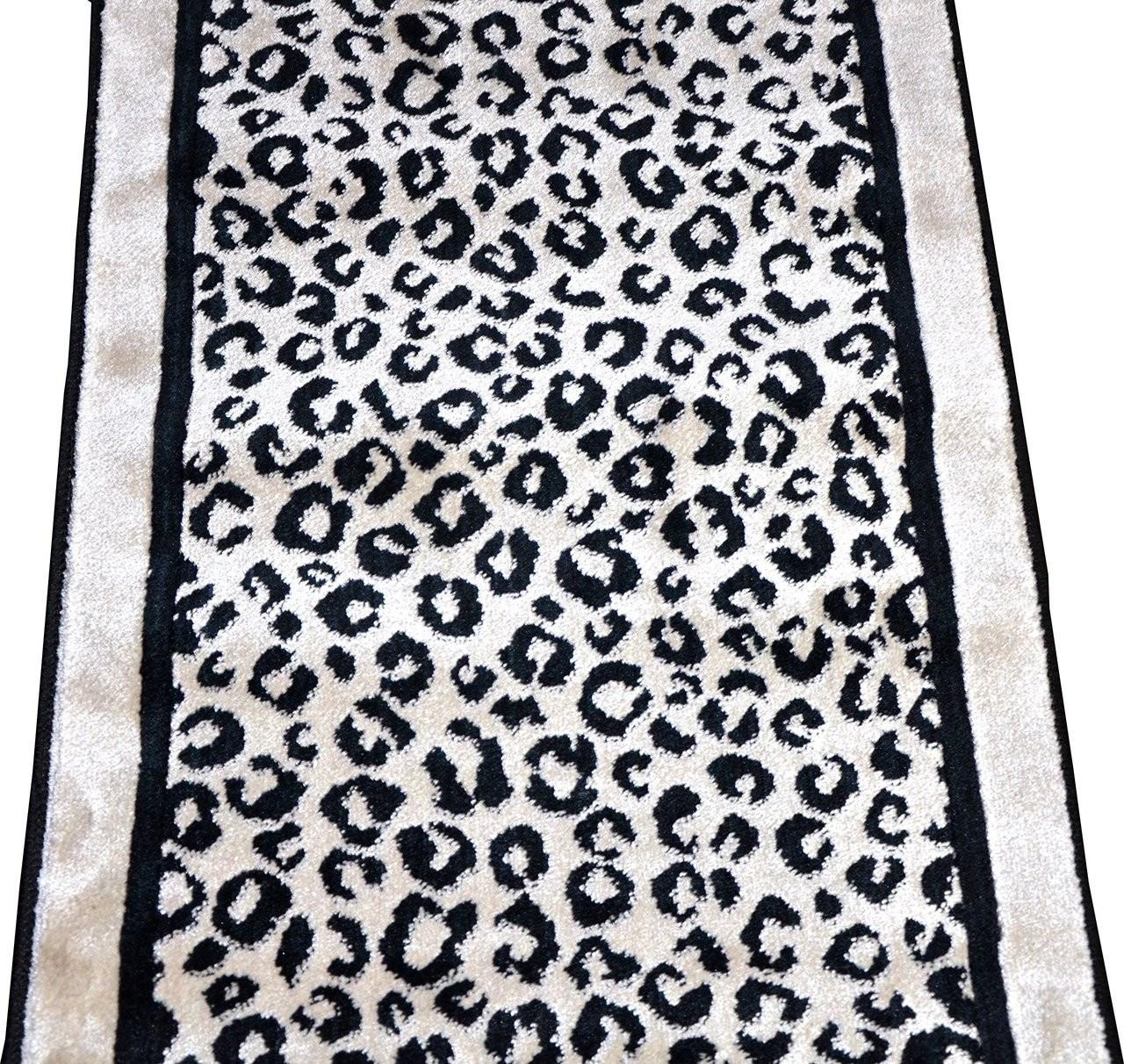 Kenya Onyx Snow Leopard Stair Or Hall Premium Nylon Carpet Runner   Carpet Runners Sold By The Foot   Wooden Stair   Coastal Carpet   Laminate   Grey   Wedding