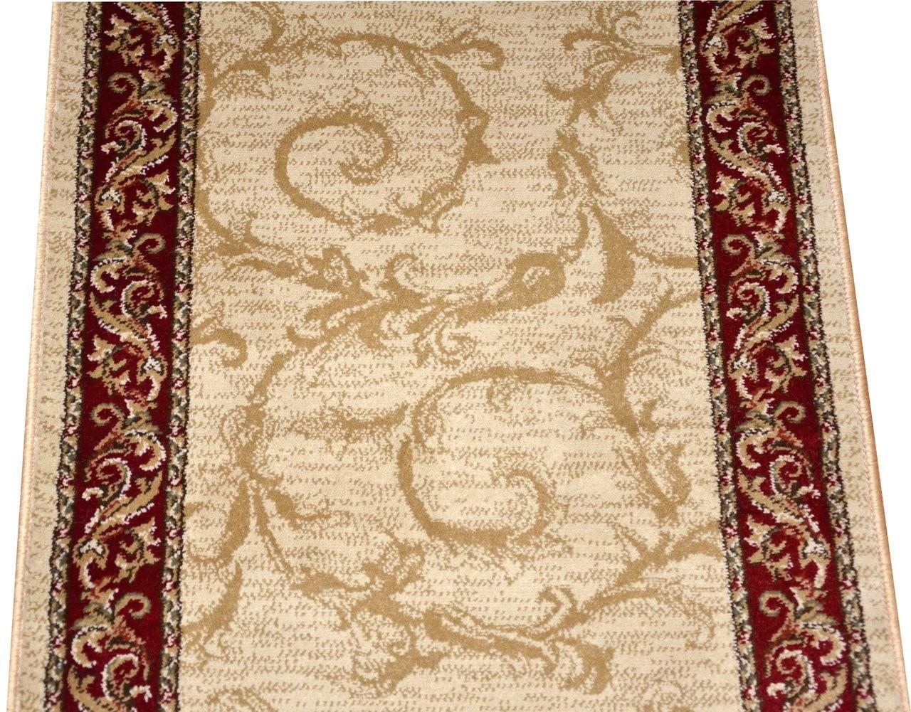 Dean Tan Scrollworks Carpet Rug Hallway Stair Runner Purchase By | Hallway Carpet Runners Sold By The Foot | Rug Depot | Hall | Woven Rug | Wool Rug | Fleur De Lis