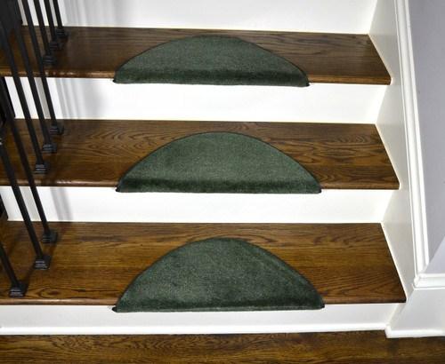 Bullnose Carpet Stair Treads   Half Moon Stair Carpet